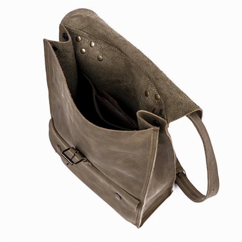 Рюкзак из кожи